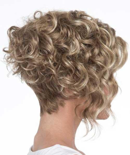Curly Bob Haircut 2018