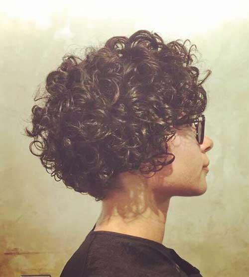 Curly Hair Short Haircut