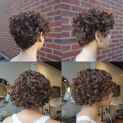 Curly Short Hair for Women