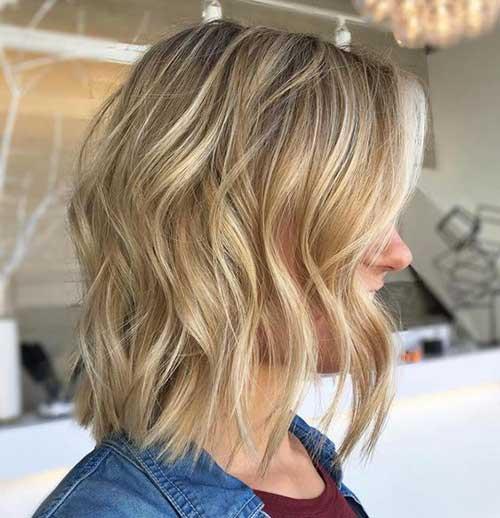 Highlighted Short Hair 2018