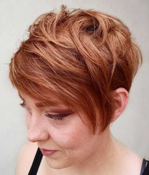 Layered Long Pixie