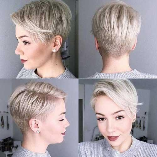 Modern Pixie Haircut 2018