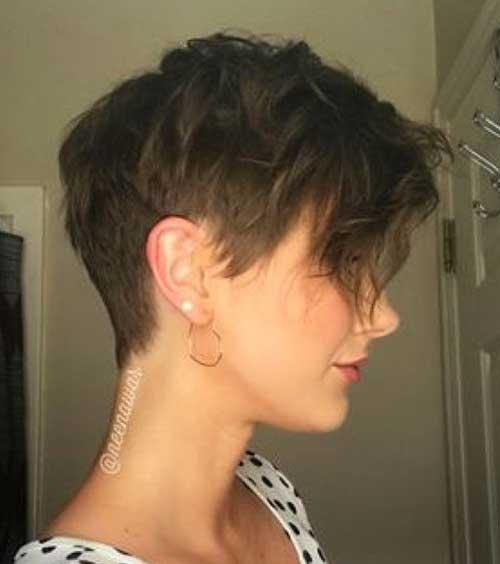 Pixie Short Hair cut 2018