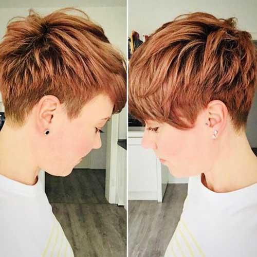 Short Copper Hair 2018
