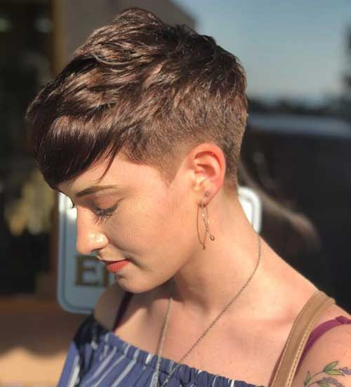 Short Side Haircut 2018