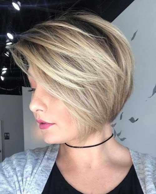 Short Thin Haircut 2018