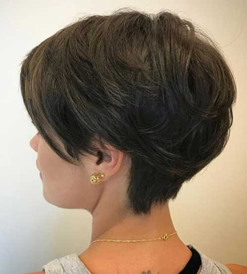 Thick Short Haircut 2018