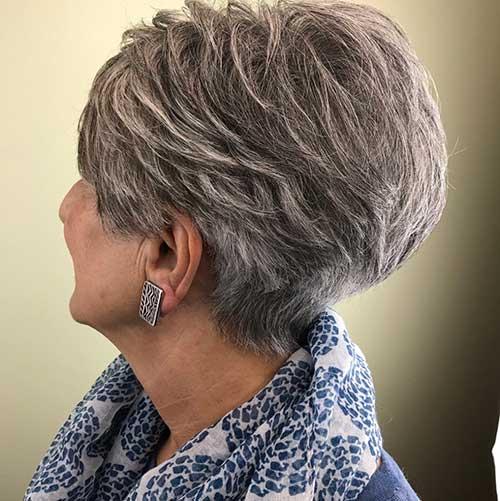 Tousled Pixie Haircut 2018