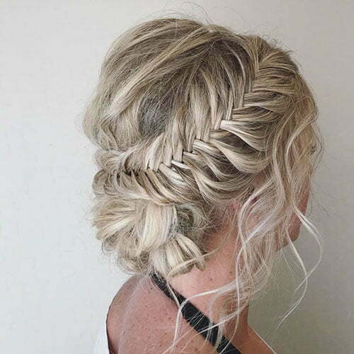 Wedding Hair Updo For Short Hair