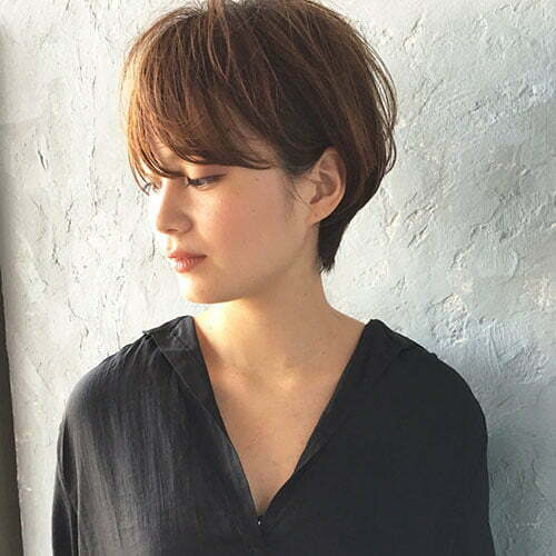 Asian Short Hair Cuts