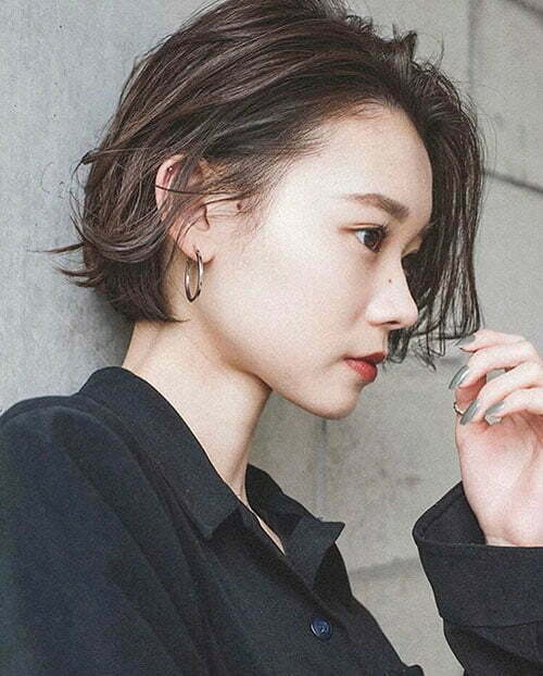 Short Hair Style For Asian