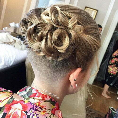 Short Hair Updo Ideas