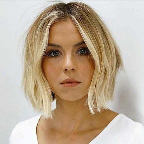 Short Blonde