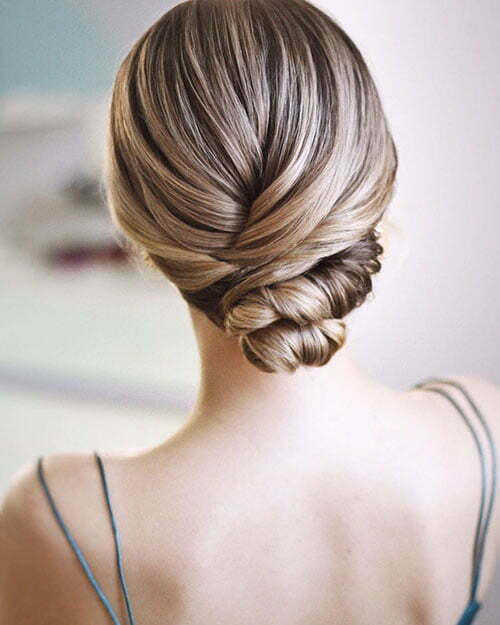 Updo Hair For Short Hair
