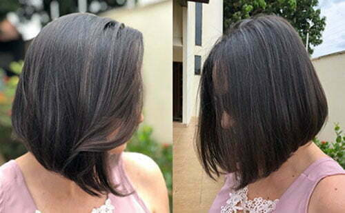 Short Dark Hair Color Ideas