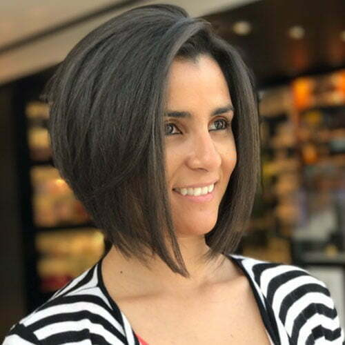 Short Dark Hair Styles 2020
