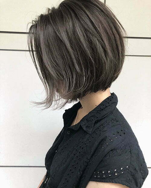 Dark Hair Short Cuts