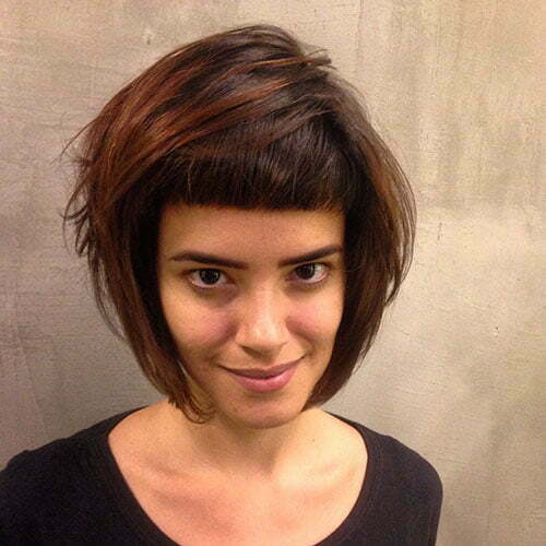 Haircuts For Short Hair With Bangs
