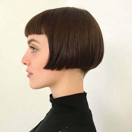 Short Hair With Bangs 2020