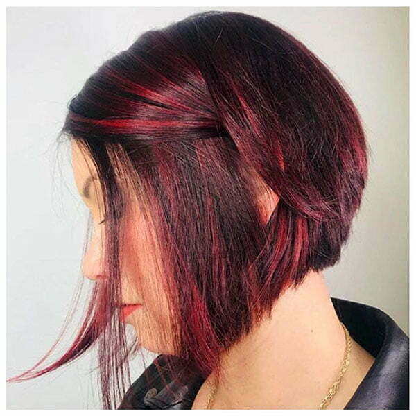 A Line Bob Hairstyle Pictures