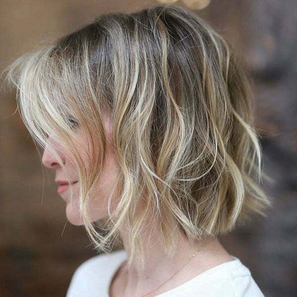 Short Blonde Ombre