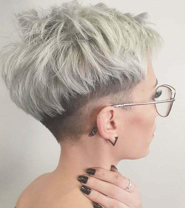 Messy Short Haircuts