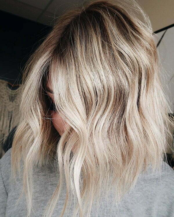 Ombre For Blonde Short Hair