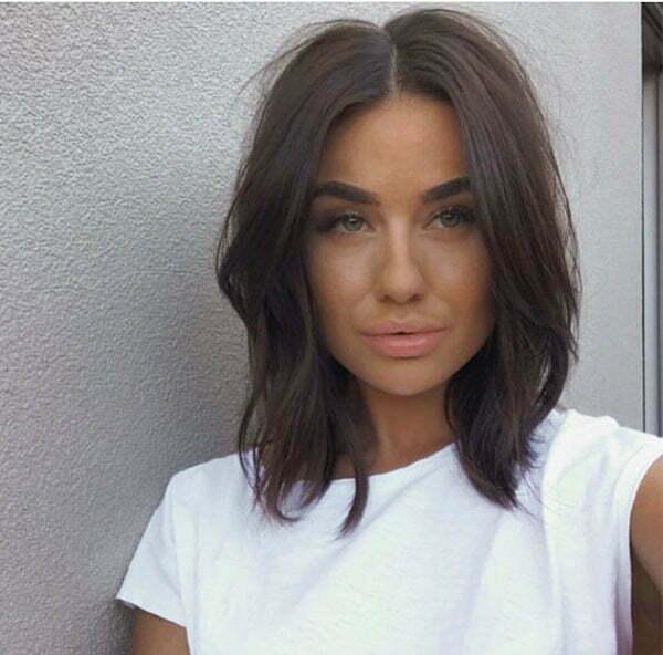 Messy Short Haircut Images