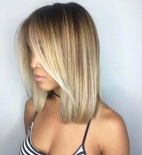 Blonde Ombre Hairstyles For Short Hair