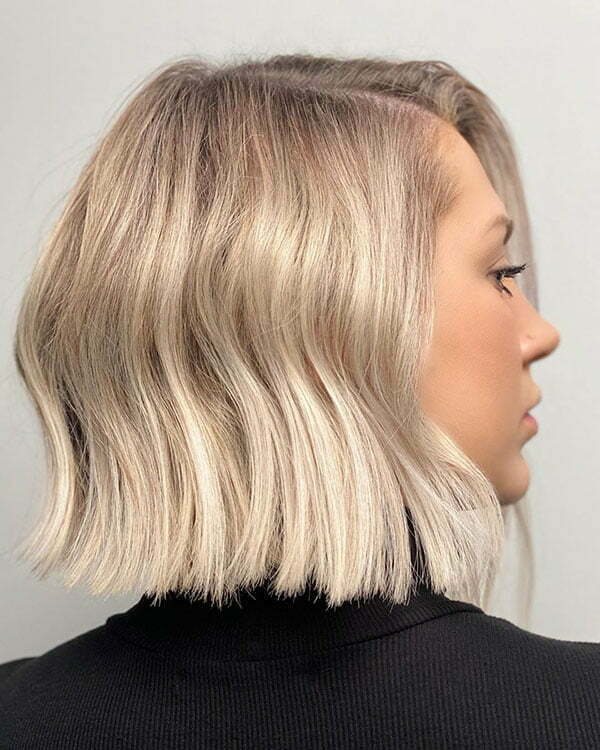 Short Haircuts On Blonde Ombre Hair