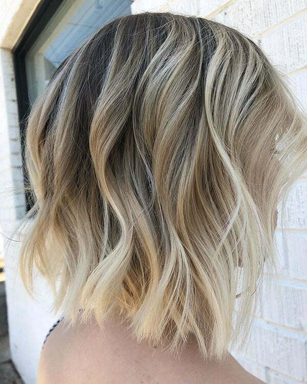 Blonde Ombre Hair For Short Hair