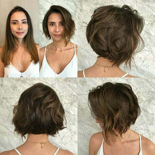 Short Messy Hairdos