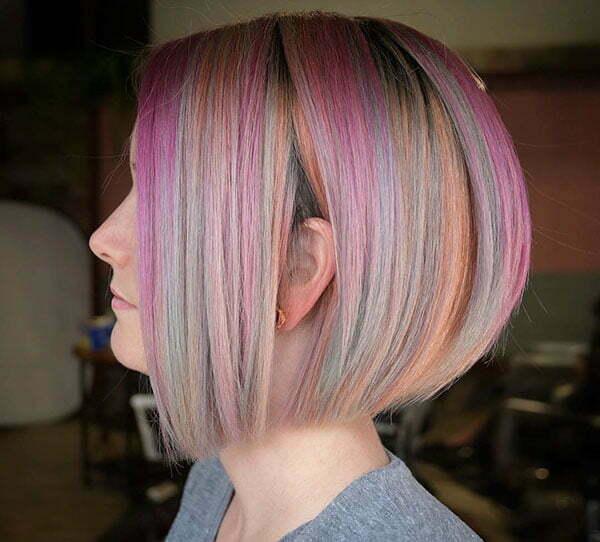 A Line Bob Hairstyles