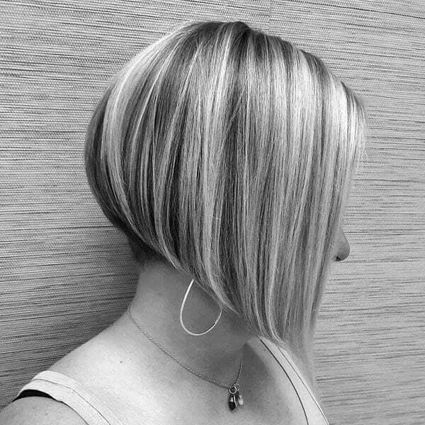 Cute A Line Bob Hair