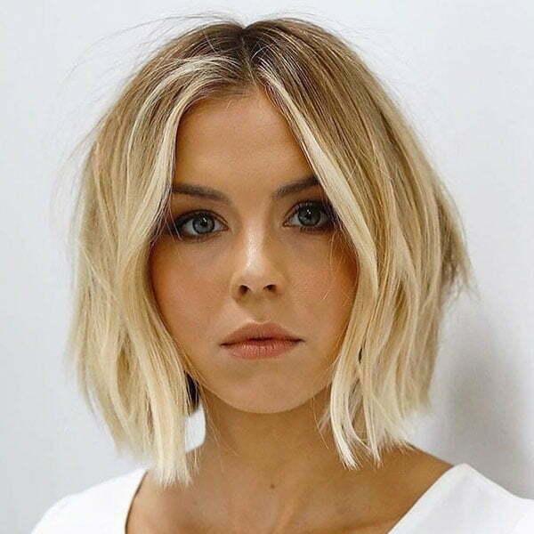 Short Blonde Ombre Hair Ideas