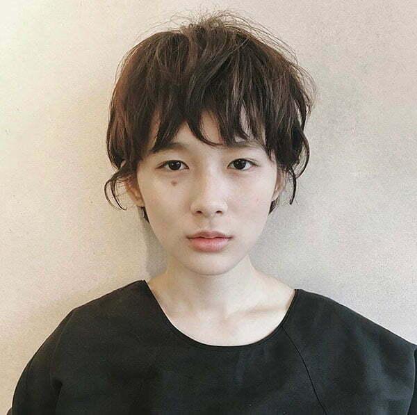 Asian Short Haircuts For Women