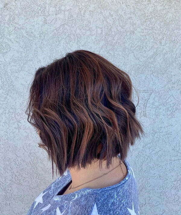 Brown Hair Color For Short Hair