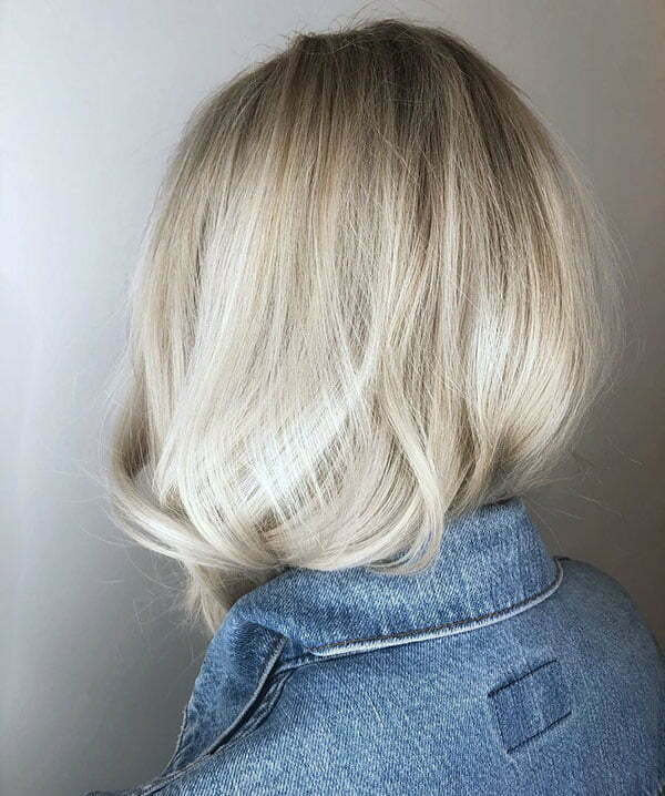 Blonde Hair Color For Short Hair