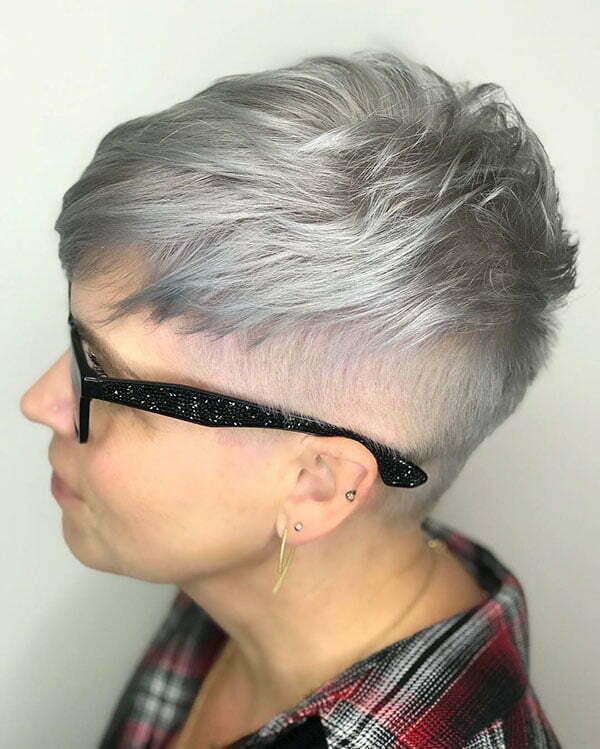 Best Grey Short Haircuts