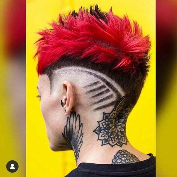 Short Hair Cut For Female