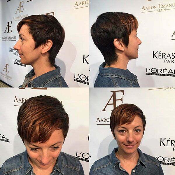 Super Short Female Hairstyles