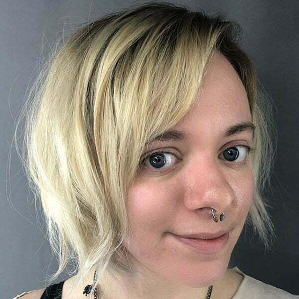 Super Short Haircuts For Thin Hair