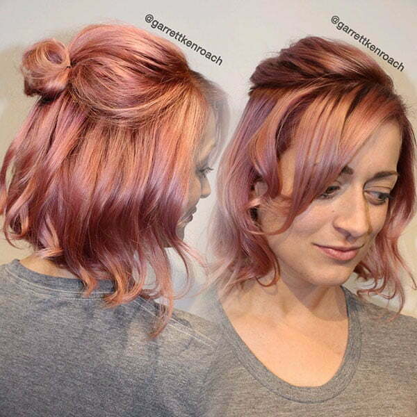Short Half Up Hairstyles For Girls