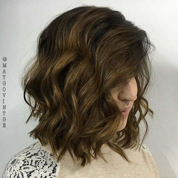 Brown Color For Short Hair