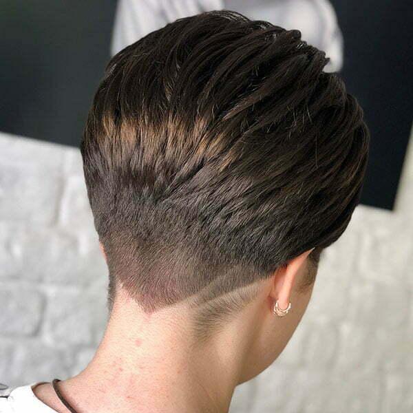 Super Short Brown Hair