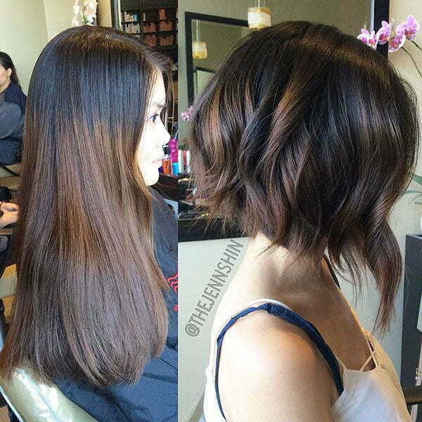 Short Brown Hair Color Ideas