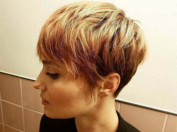 Images Of Short Haircuts With Bangs