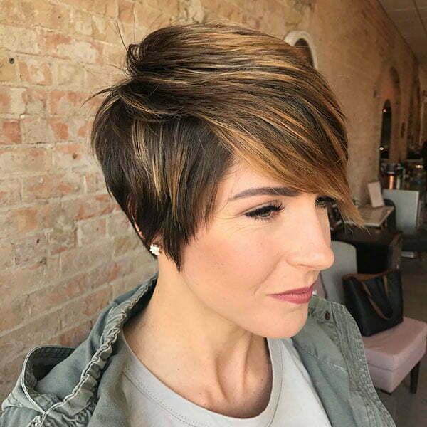 2021 short hair styles for women