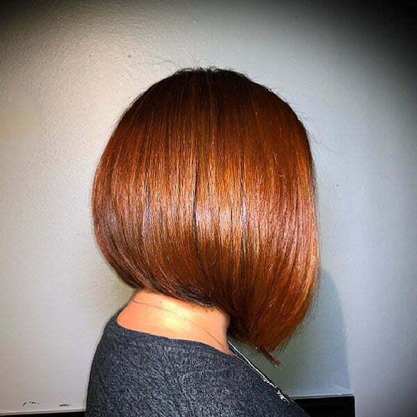 a bob cut