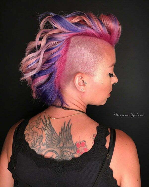 a pixie haircut